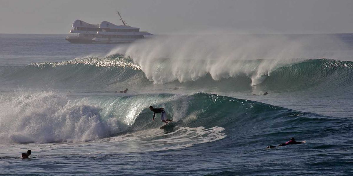 Dangerously high surf expected on south shores