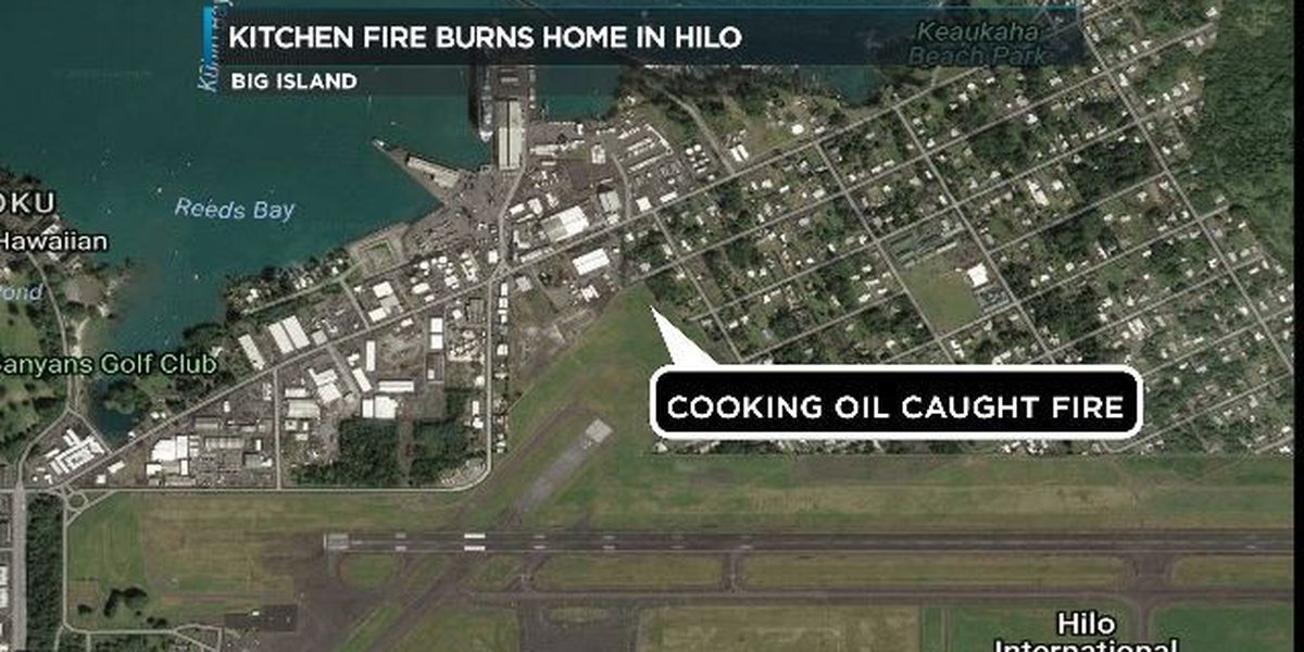 Red Cross assisting 10 displaced residents after house fire in Hilo