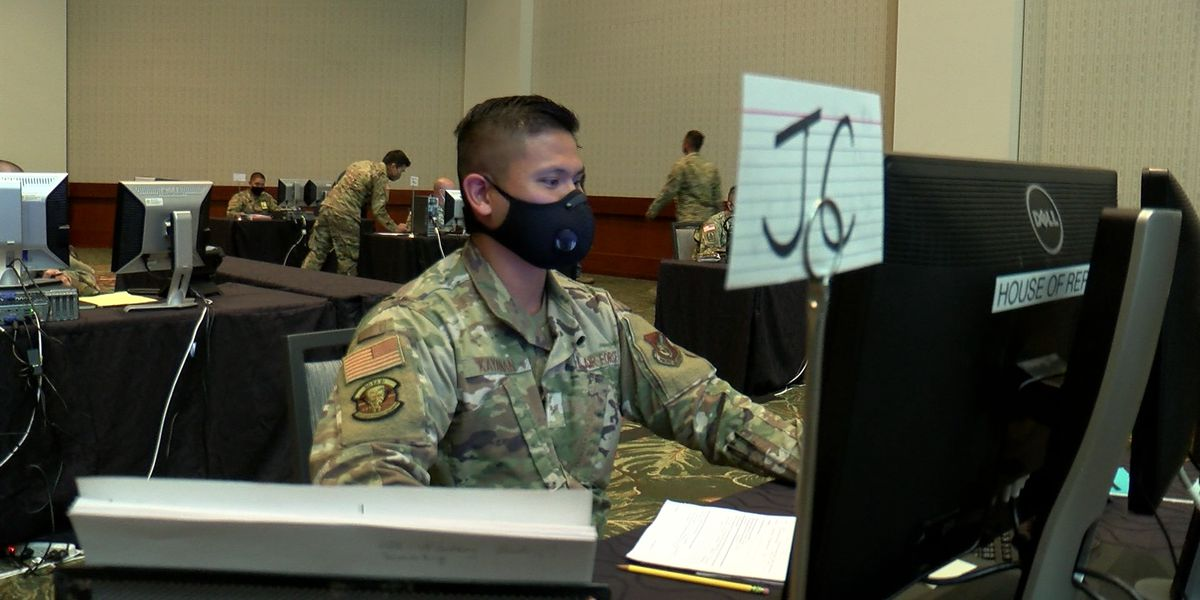 Working long shifts, National Guard members scramble to ramp up contact tracing efforts