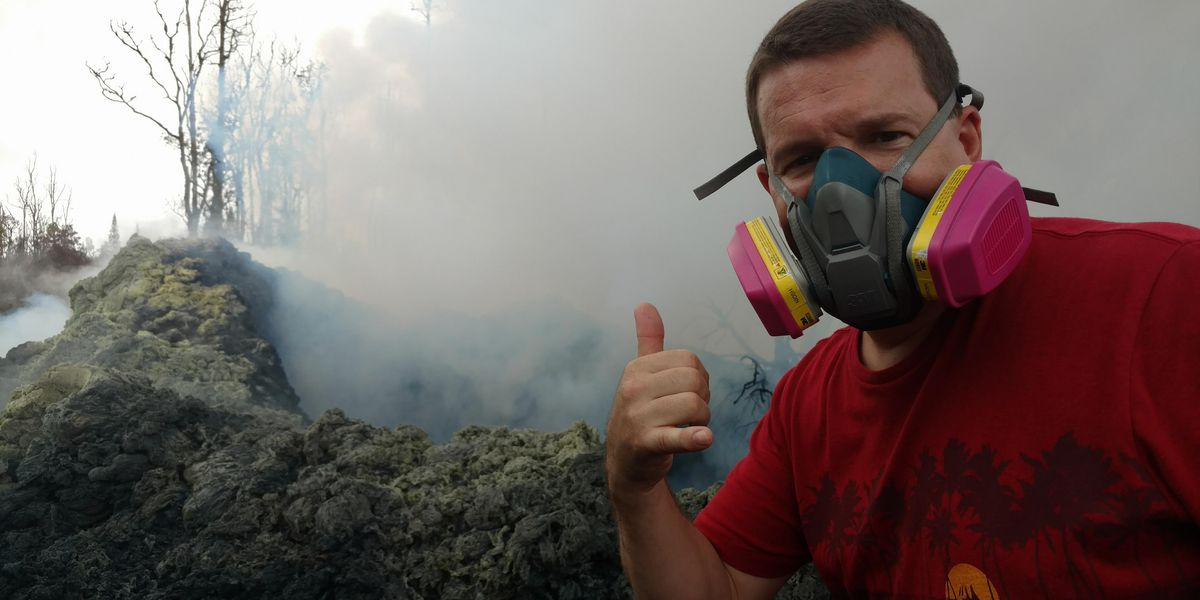 After losing his home to lava, a Big Island man finds a new purpose: Helping others