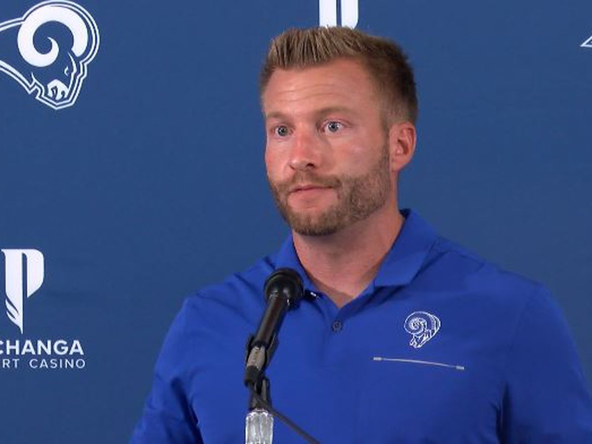 'What a great atmosphere': Sean McVay reflects on Rams sold out game in Hawaii