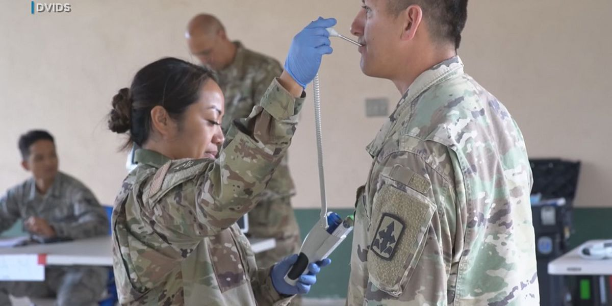 National Guard members activated to support state's pandemic response