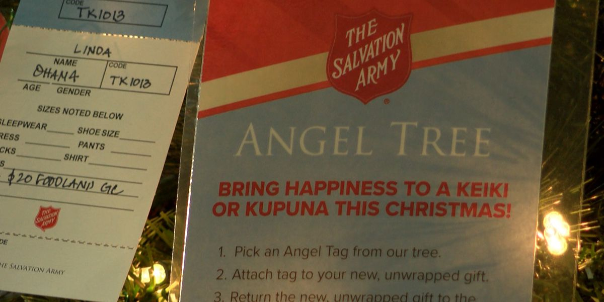 Salvation Army's Angel Tree campaign brings holiday cheer to families in need