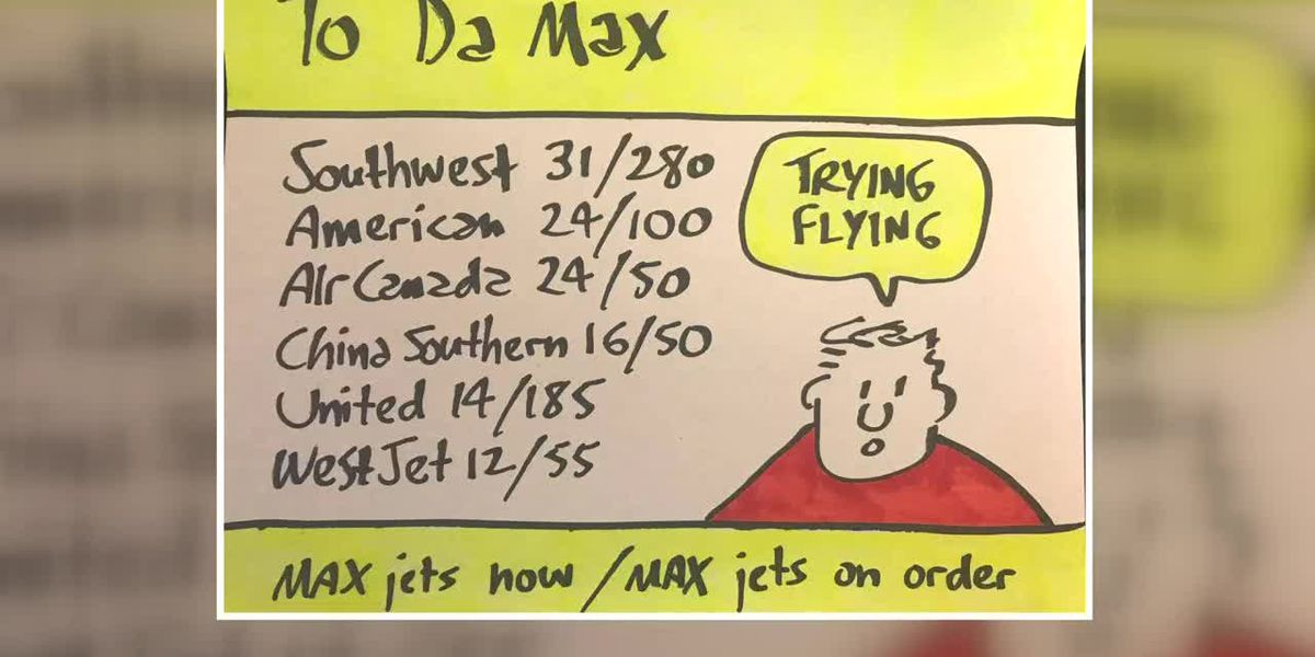 Business Report: Flying the Boeing Max jet