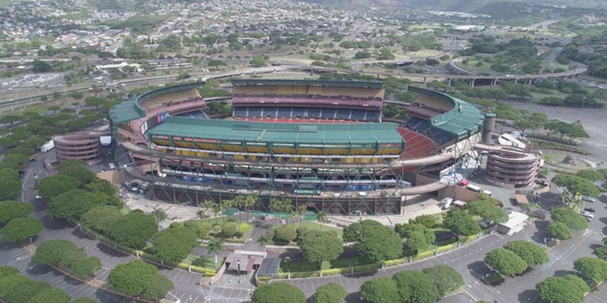 Ige signs into law bill that kicks off the redevelopment of Aloha Stadium