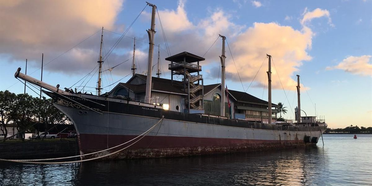 Embattled ship 'Falls of Clyde' one step closer to returning home to Scotland
