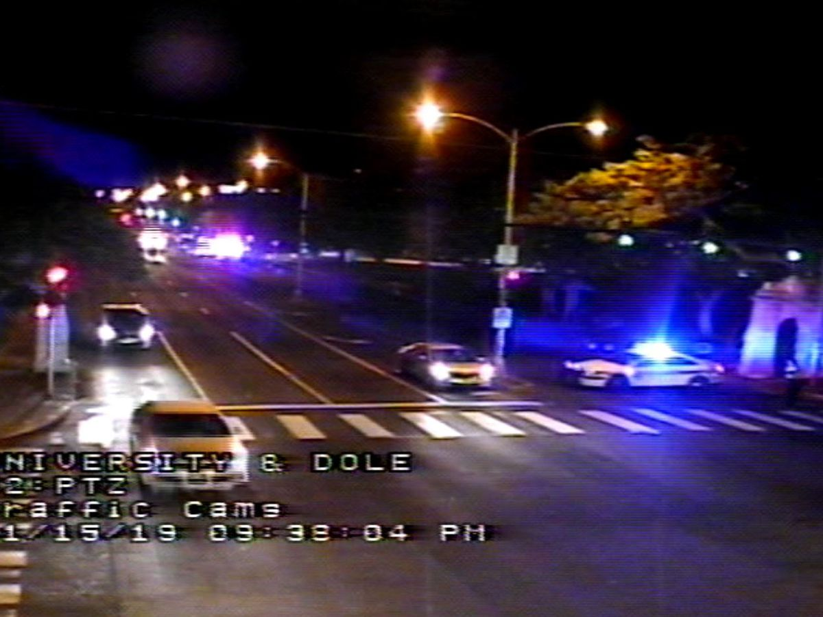 Police respond to pedestrian accident near UH Manoa
