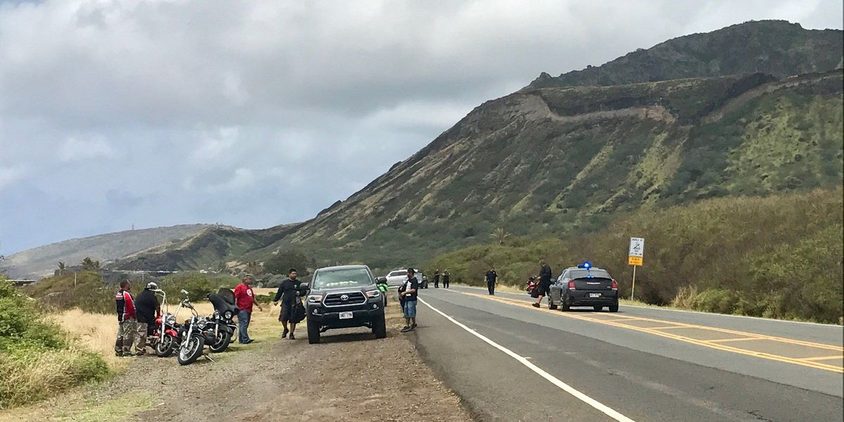 Biker who died near Sandy Beach identified, 2 others remain hospitalized