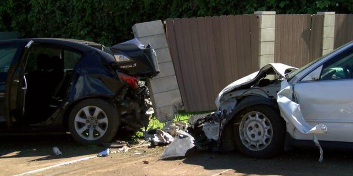 Stolen car crashes into Waialua High, triggering police pursuit