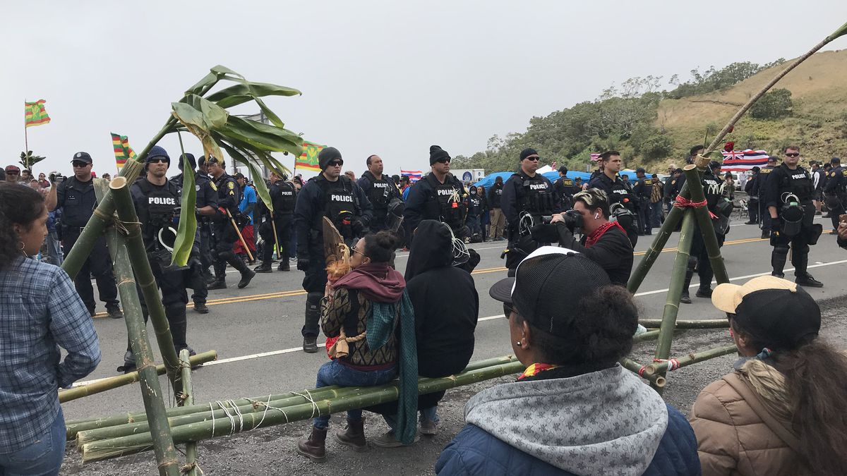 Mauna Kea protests police presence backed by appeals court