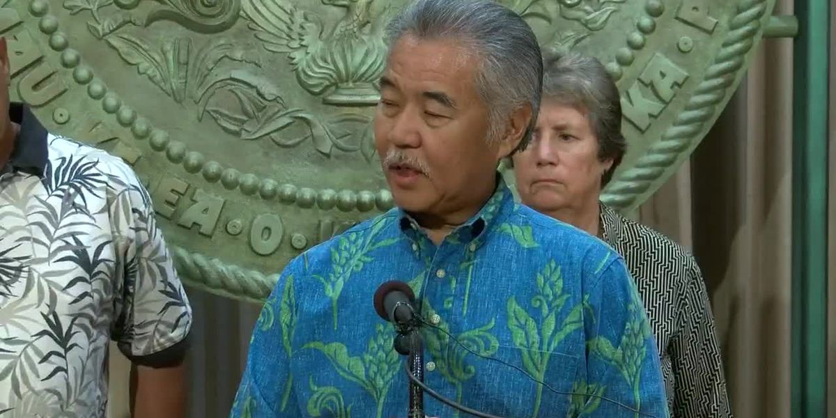 Ige hasn't publicly spoken about the conflict on Mauna Kea in weeks
