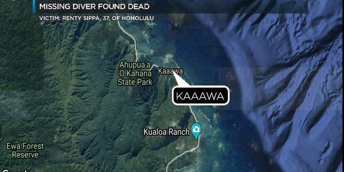 Diver who died after going missing in waters off Kaaawa identified