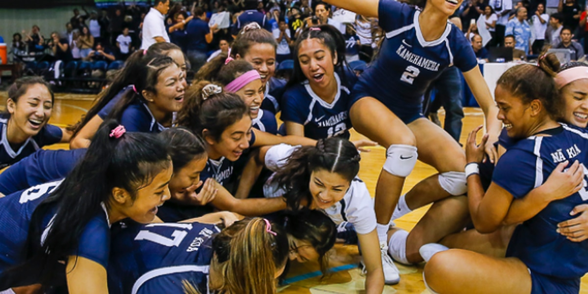 Kamehameha comes from behind to down Punahou, for 22nd-state title
