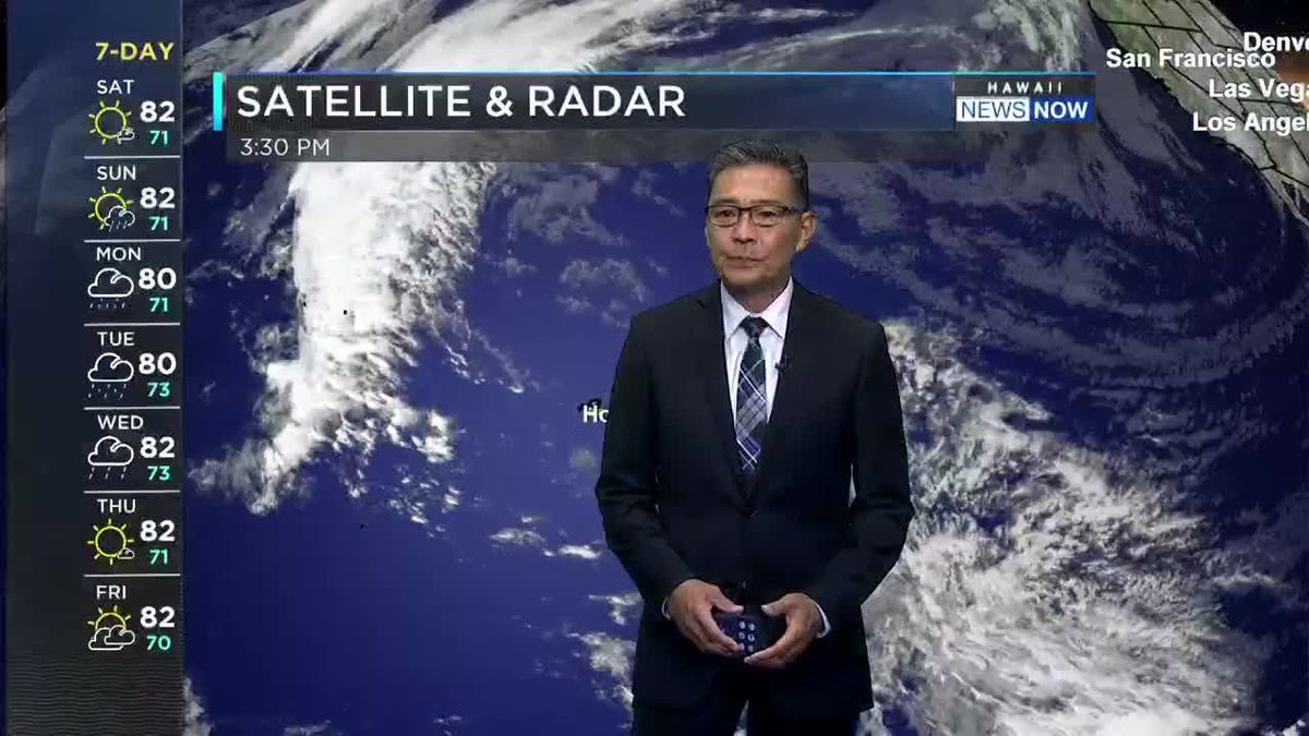 Hawaii News Now Weather Forecast Saturday, January 23, 2021
