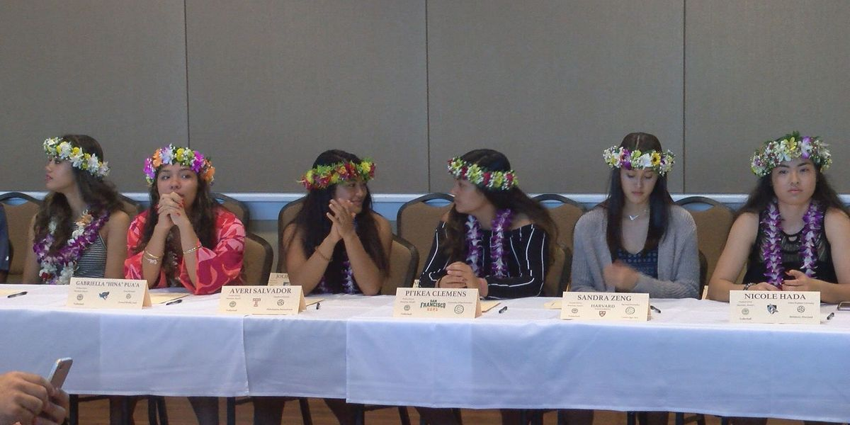 Some of Hawaii's top athletes sign with top-notch colleges