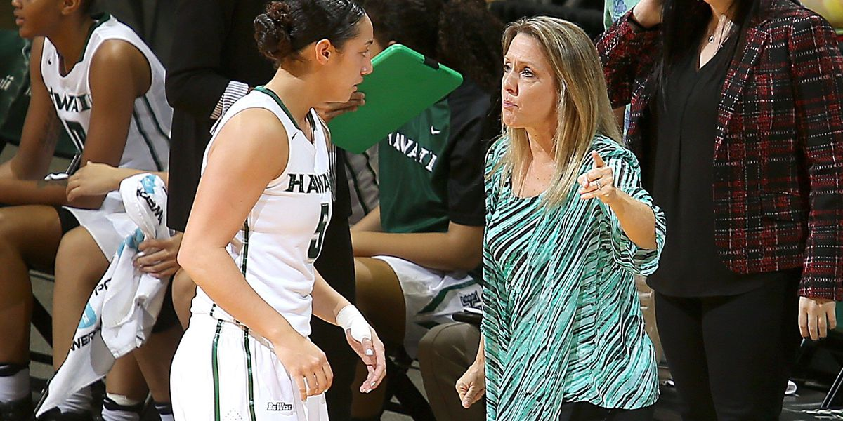 Rainbow Wahine's second half efforts not enough to beat UCSB
