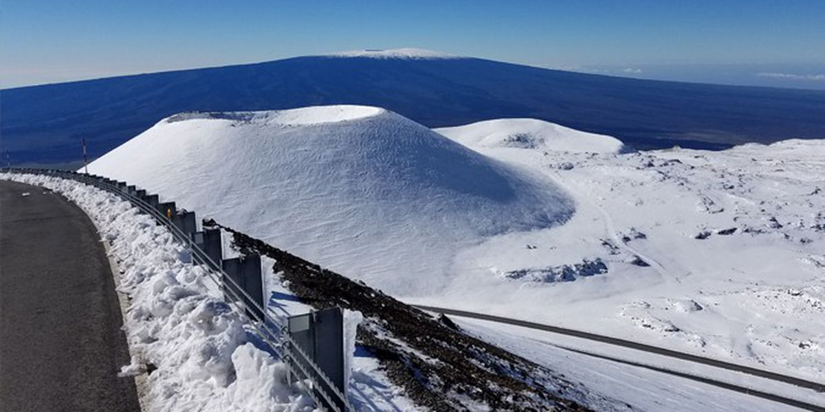 Did you know Mauna Kea has permafrost? ... Well, it might not have it for much longer