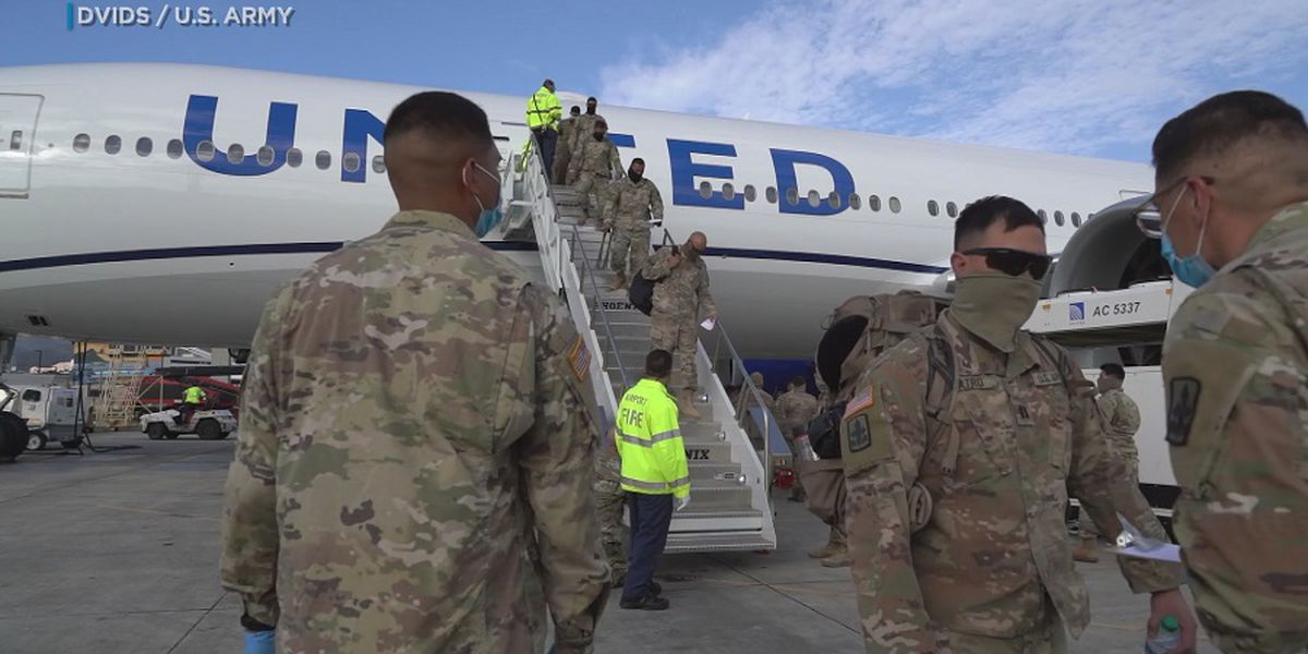 National Guard soldiers return to Hawaii from Middle East in historic homecoming