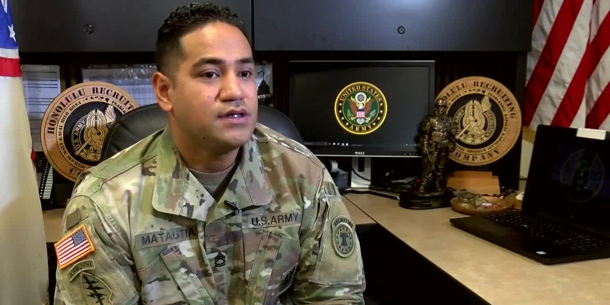 Hometown Heroes: An Army recruiter with a simple mission — help others make a difference, too