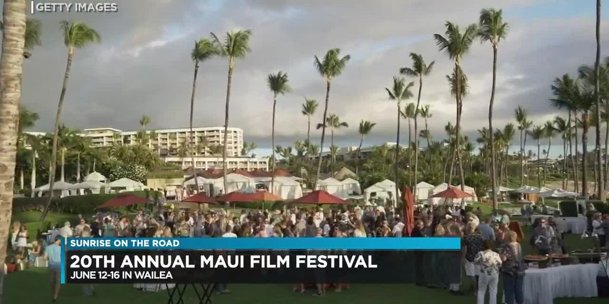 Previewing the Maui Film Festival | Sunrise On The Road: Maui Film Festival