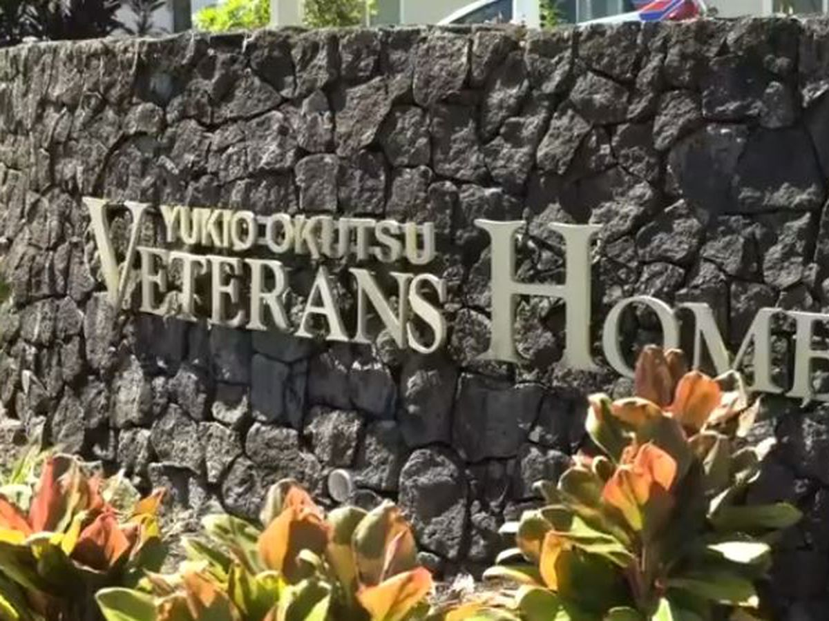 Updated numbers reflect 1 new death at the Yukio Okutsu Veterans Home