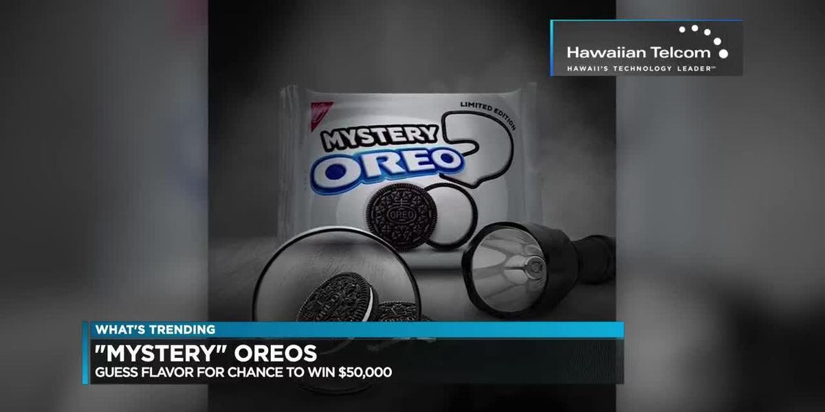 "What's Trending: Oreo begins selling new ""mystery"" cookie"