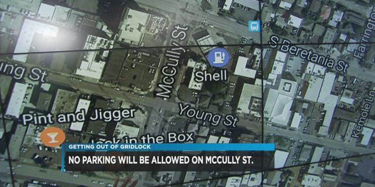 Bicyclists propose new bike lane on McCully Street