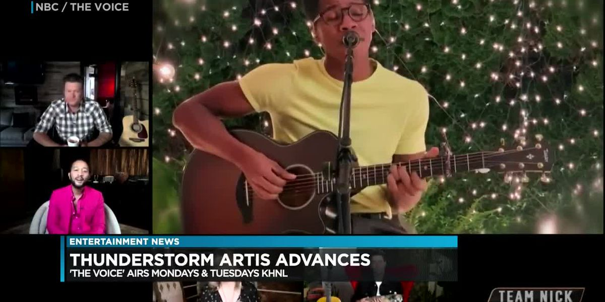 Entertainment: Did local boy Thunderstorm Artis make it into 'The Voice' finale?