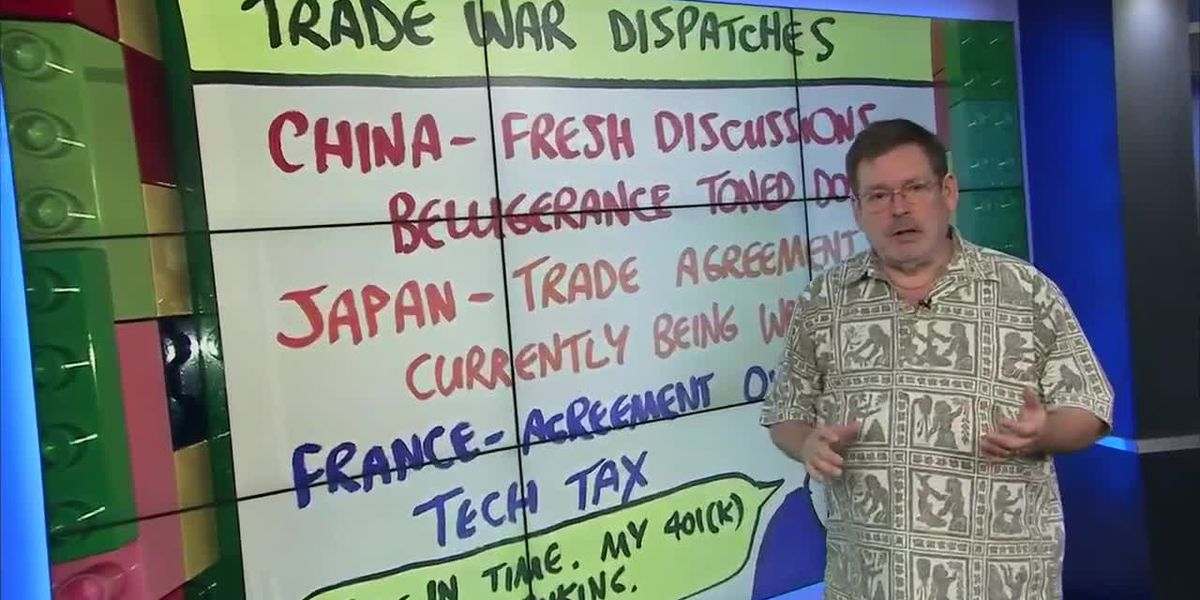 Business Report: Howard Dicus give us the latest on the US/China Trade War