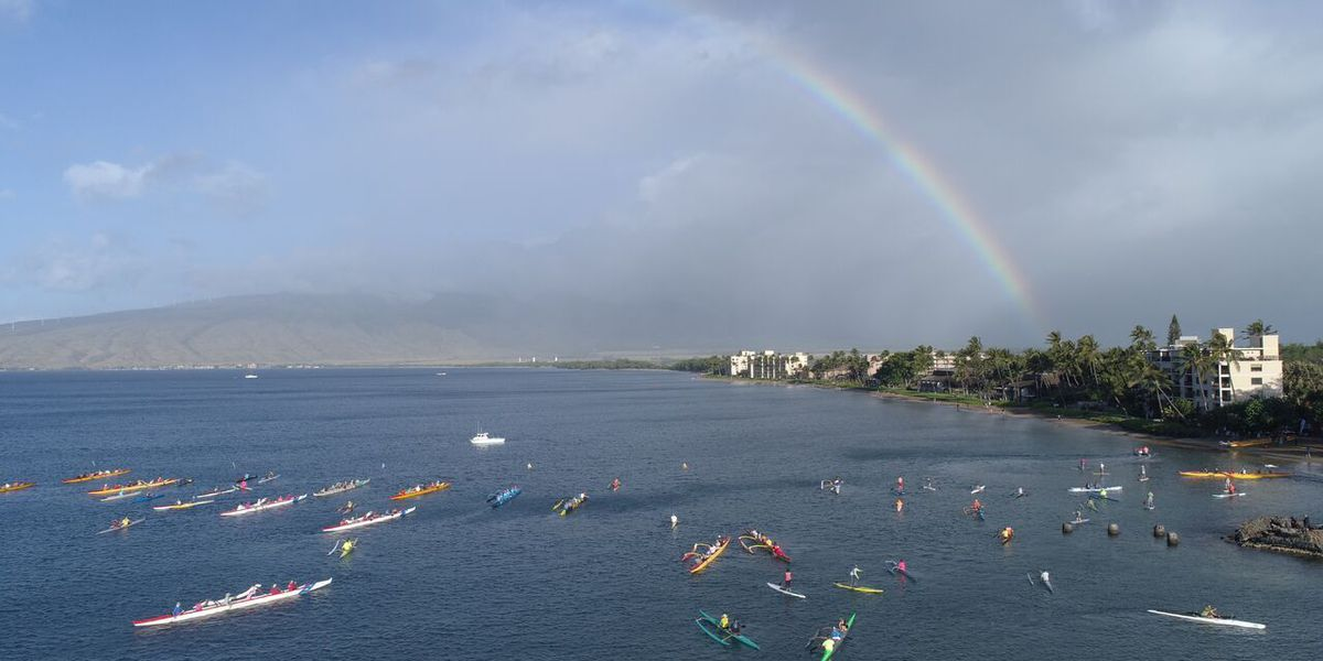 17th annual Paddle for Hunger raises thousands for Maui Food Bank