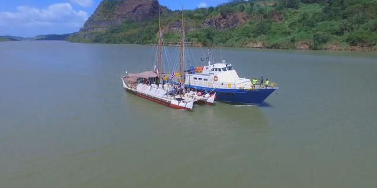 Hokulea crew heads to the Galapagos Islands