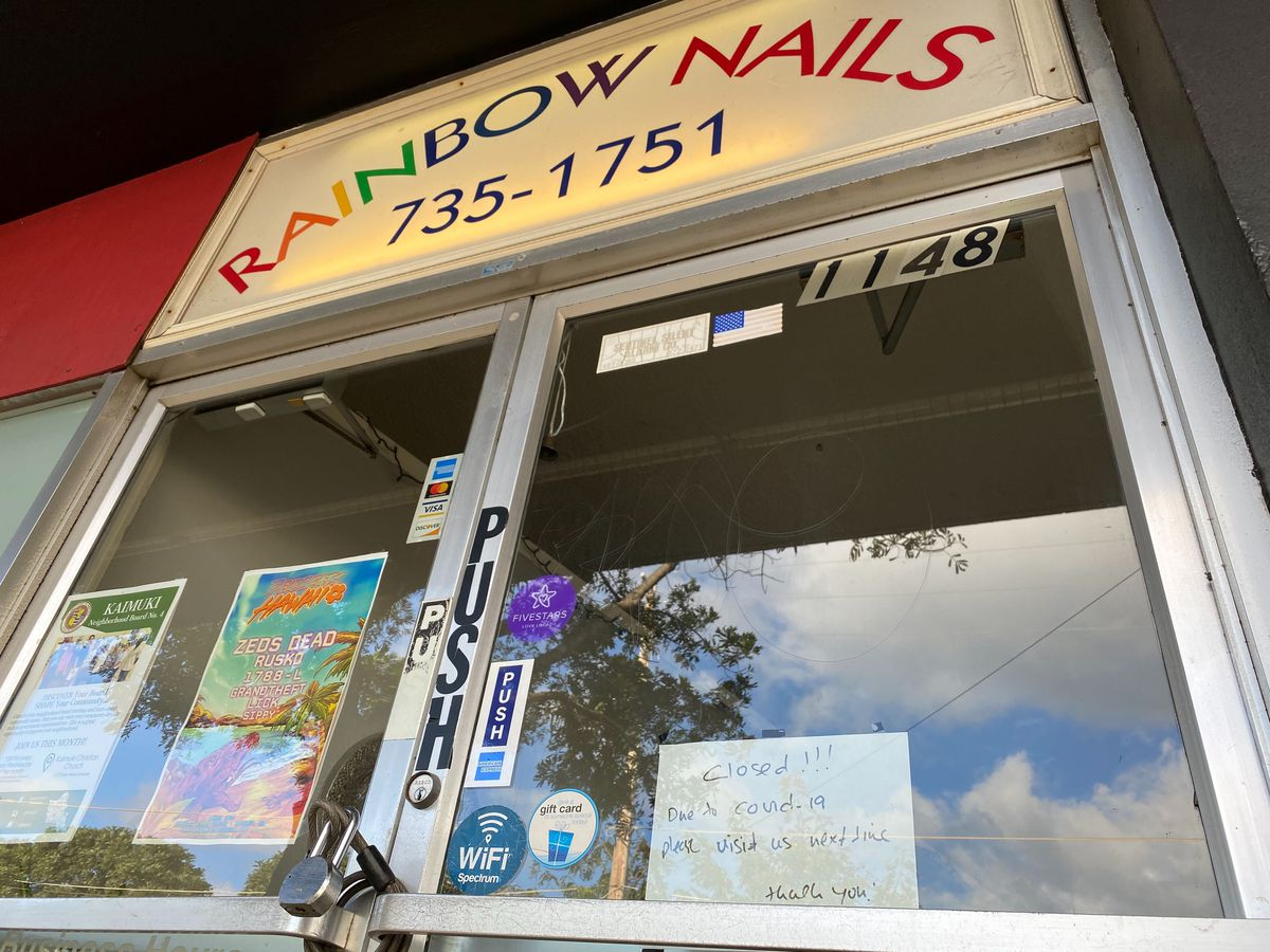 Salons, barber shops and other 'personal service providers' on Oahu get OK to reopen Friday