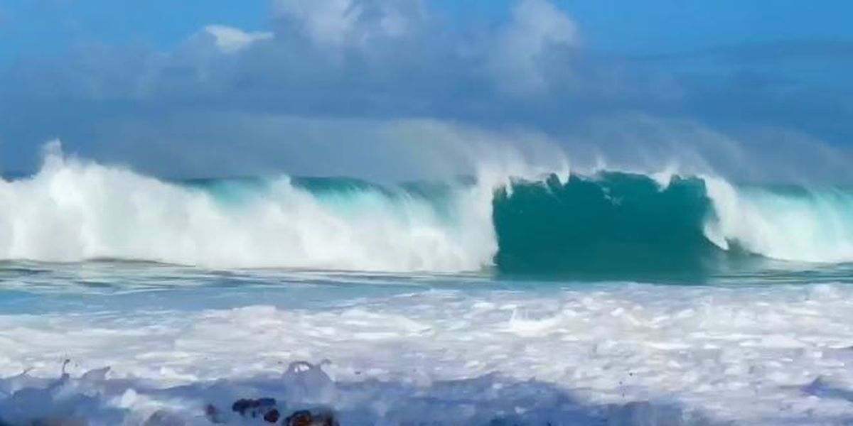Most north shores placed under high surf warning