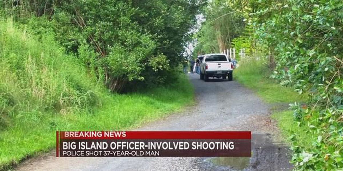 Suspect rushed to hospital after officer-involved shooting on Big Island