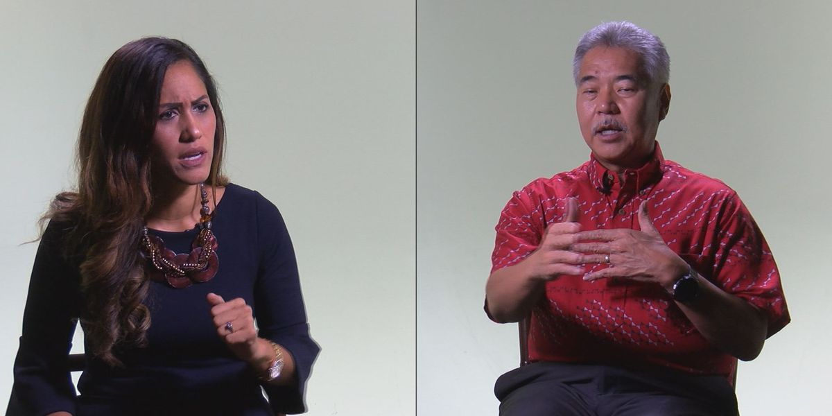 Here's how the gubernatorial candidates stand on some of the biggest issues facing Hawaii