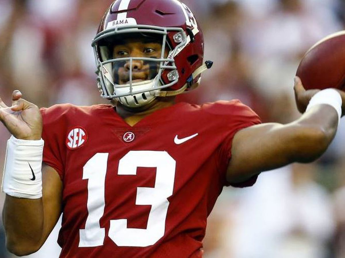Former Saint Louis quarterback Tua Tagovailoa, the subject of Fox Sports' new documentary