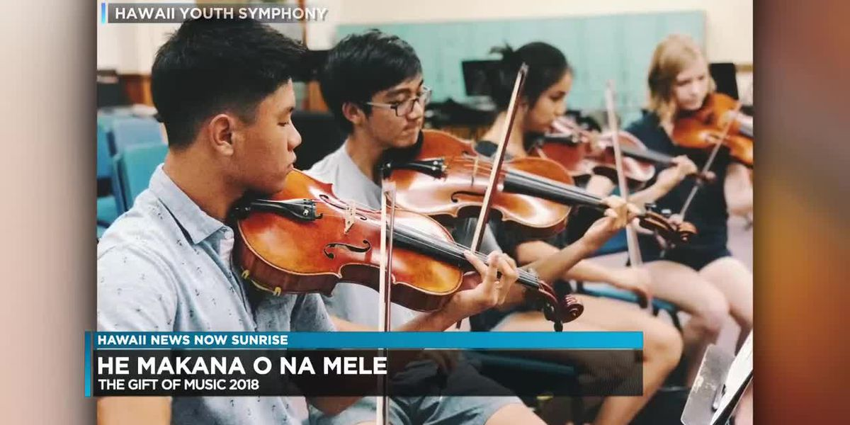 """Hawaii Youth Symphony celebrates the """"Gift of Music"""" in upcoming fundraiser"""