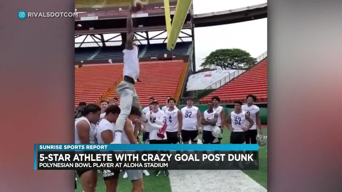 Sunrise Sports: Criteria for new UH coach, Polynesian Bowl receiver wows, Coach Wade is honored