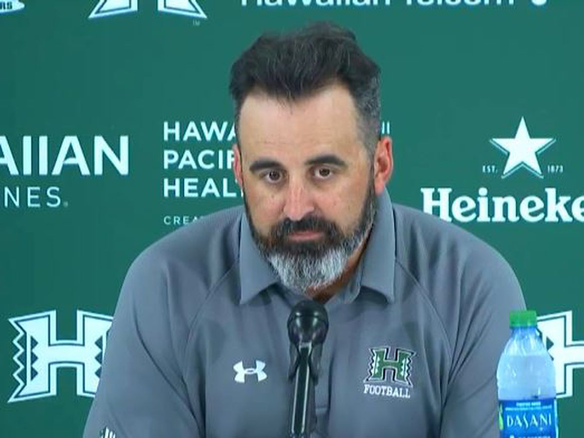 'Toughest decision of my head coaching career': Nick Rolovich addresses quarterback situation