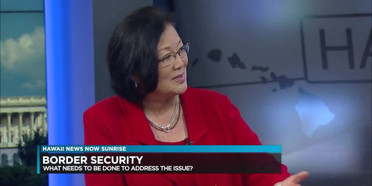 Sen. Mazie Hirono discusses what's happening in Washington