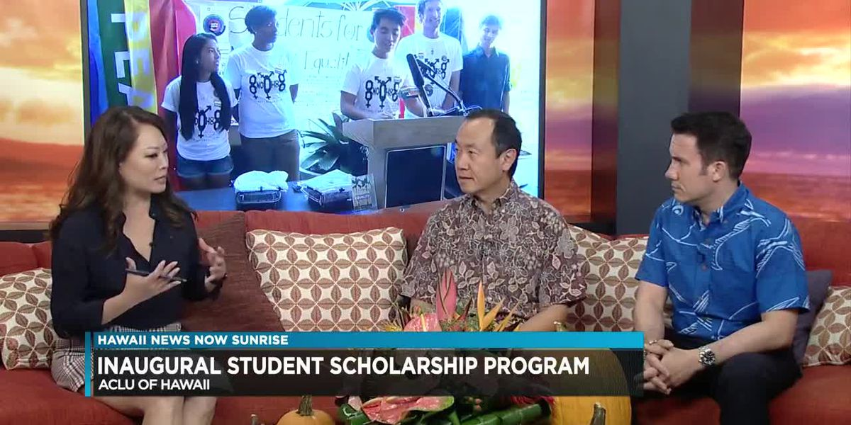 ACLU announces new scholarship for local students