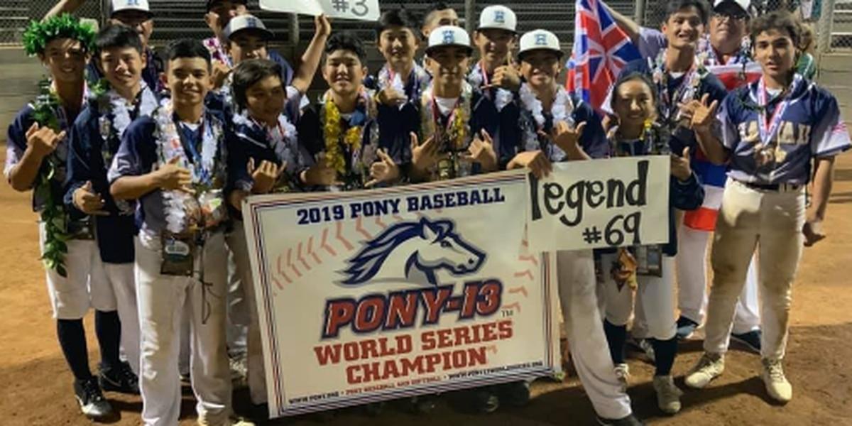 Hilo captures 2019 Pony-13 World Series Championship