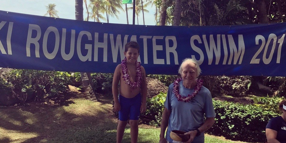 Age is just a number for these Waikiki Roughwater Swim finishers