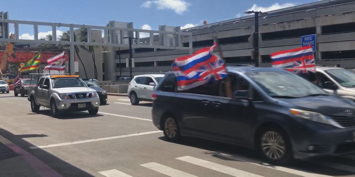 HPD receives 'numerous' complaints about large flags on vehicles