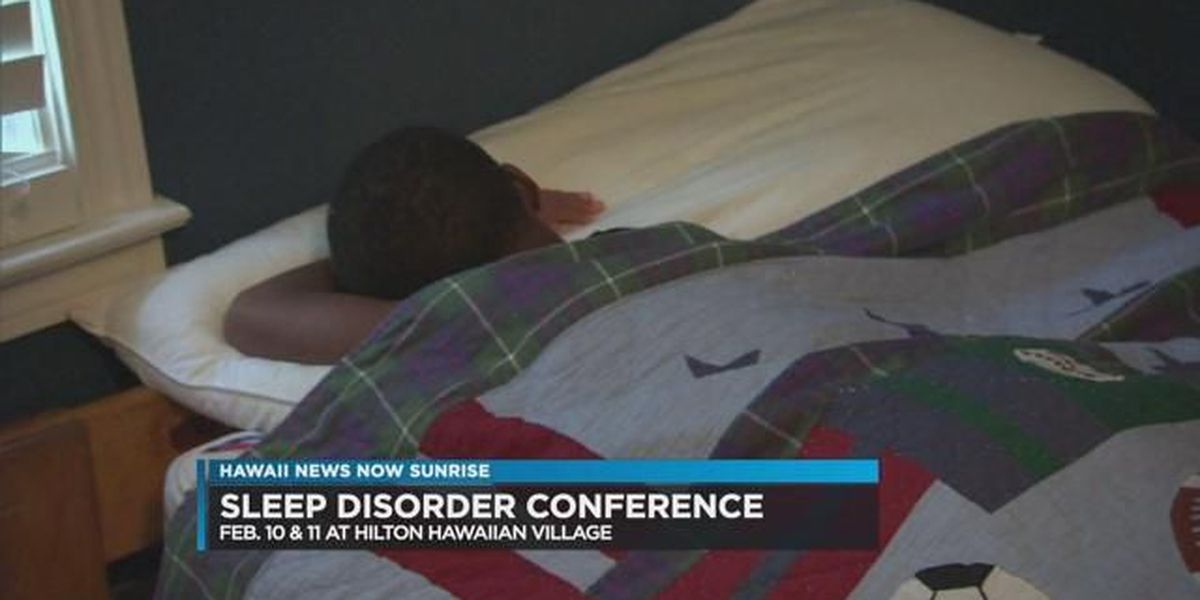A sleep disorder conference for health professionals