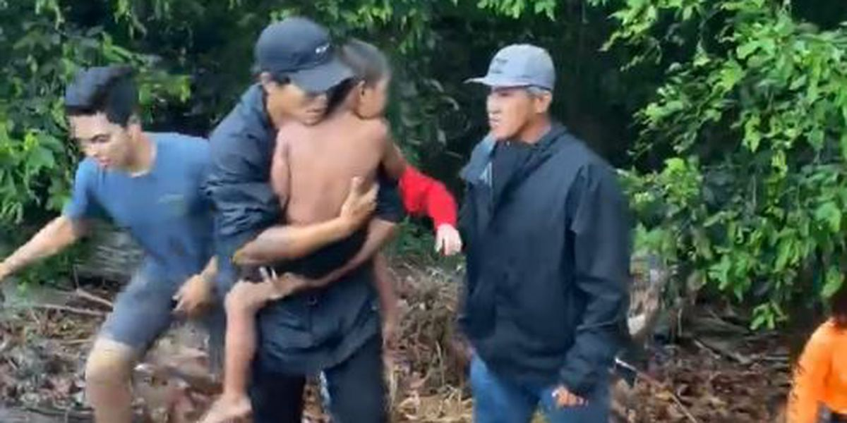 Volunteers on Maui find a missing boy who disappeared as Douglas neared