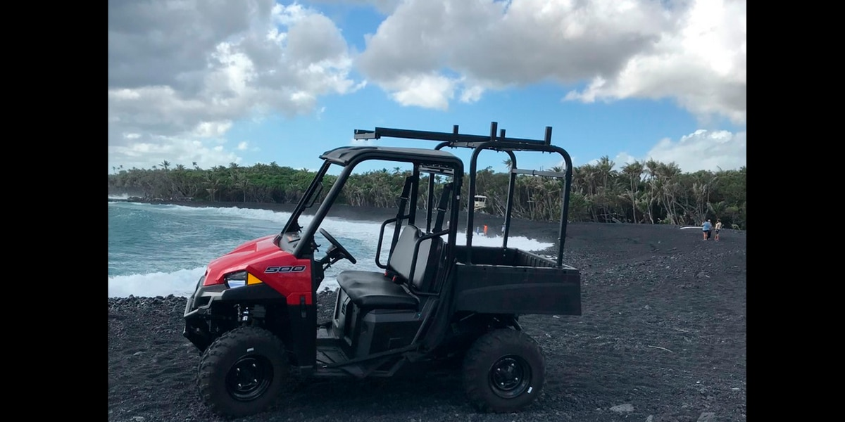Thieves steal $30K worth of rescue equipment on Hawaii Island