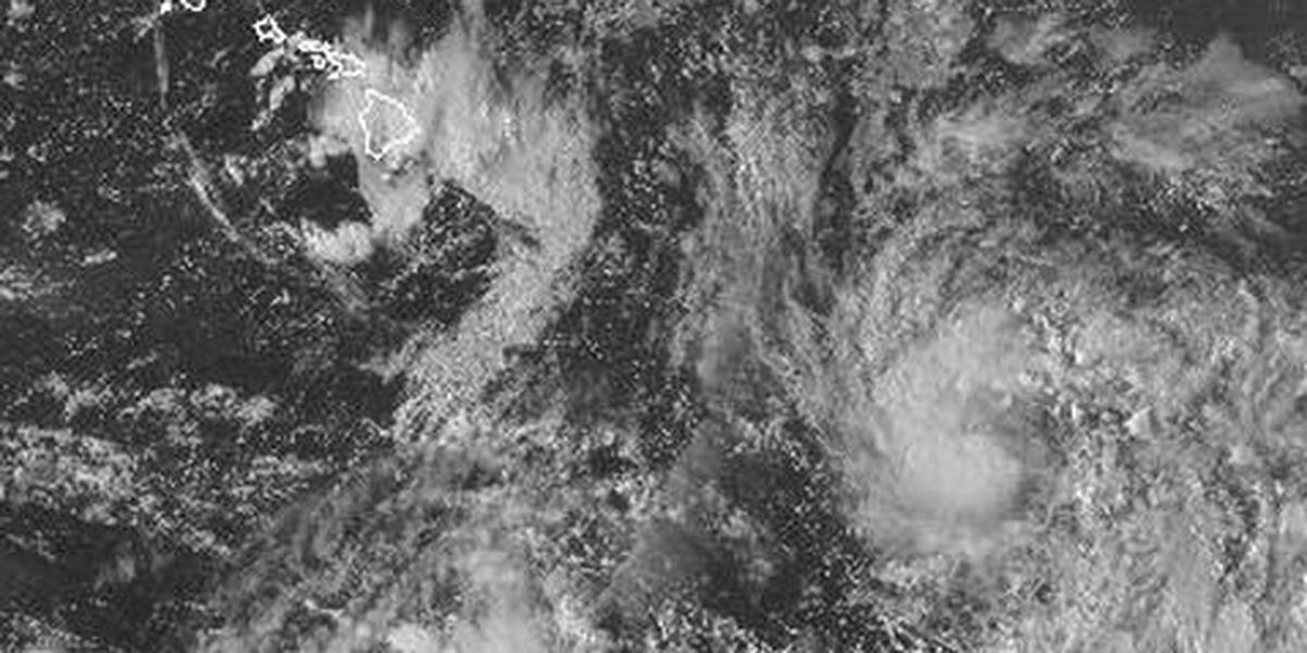 System in Central Pacific intensifies into Tropical Storm Ana