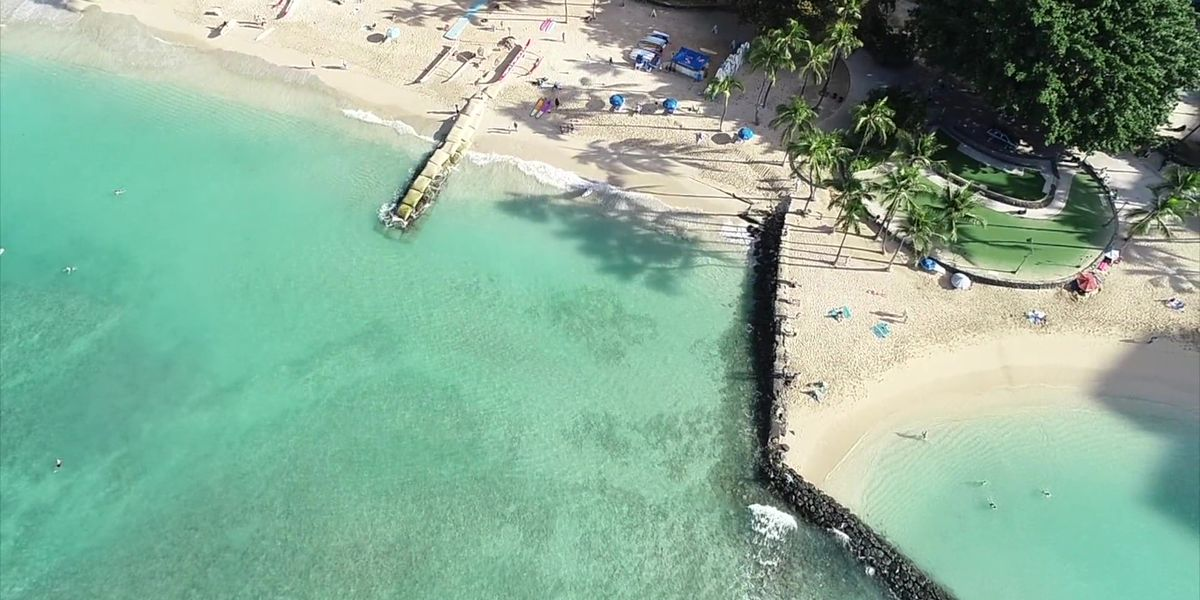Series of coastal engineering projects underway amid race to save Waikiki Beach