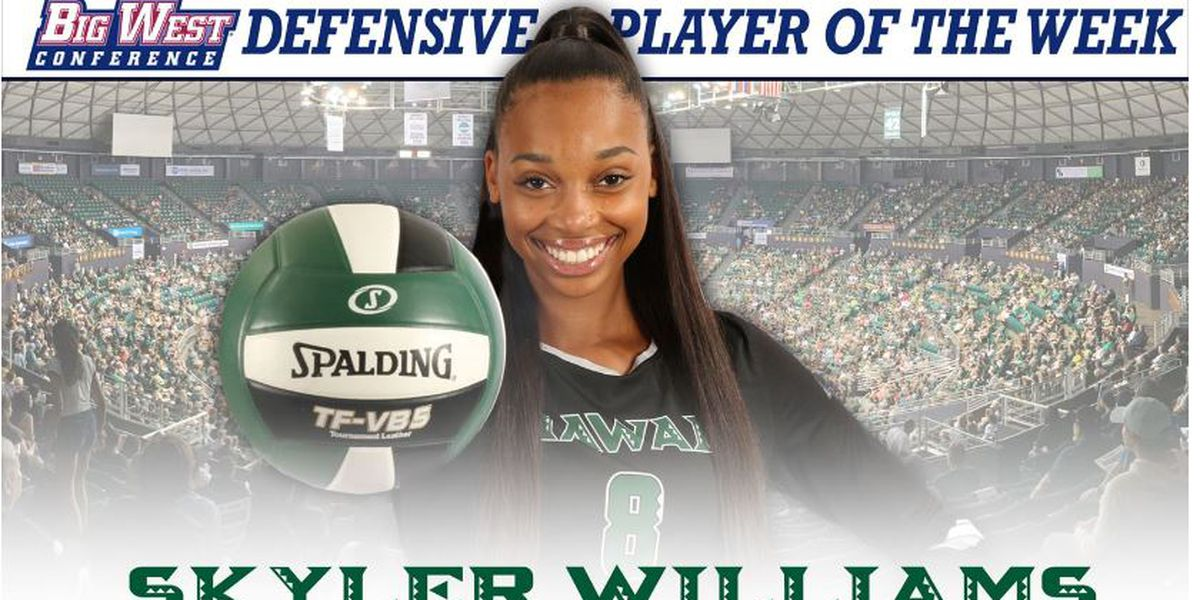 Williams earns defensive conference player of the week